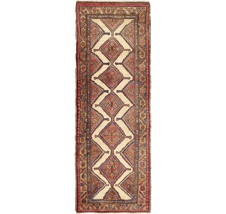 107cm x 297cm Chenar Persian Runner Rug