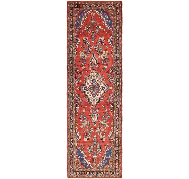 90cm x 312cm Borchelu Persian Runner...