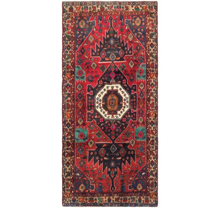 132cm x 287cm Mazlaghan Persian Runne...