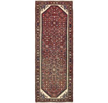 3' 7 x 10' Hossainabad Persian Runner Rug main image