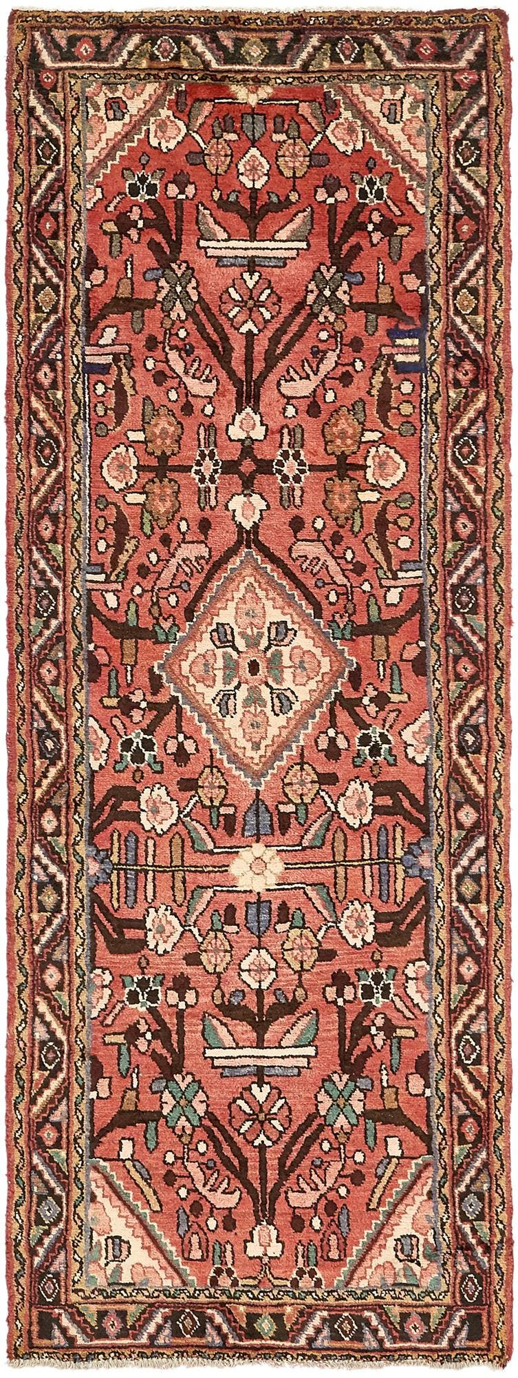 3' 3 x 9' 3 Borchelu Persian Runner Rug main image