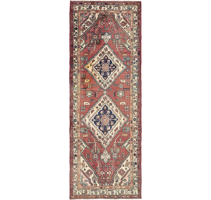 105cm x 295cm Saveh Persian Runner Rug