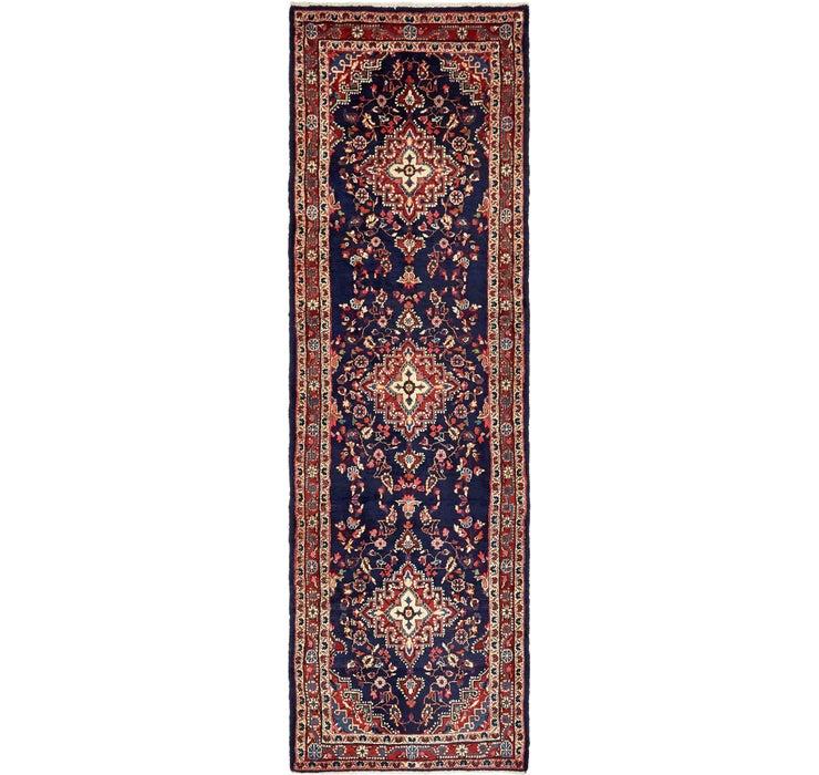 3' 7 x 11' 7 Shahrbaft Persian Runne...