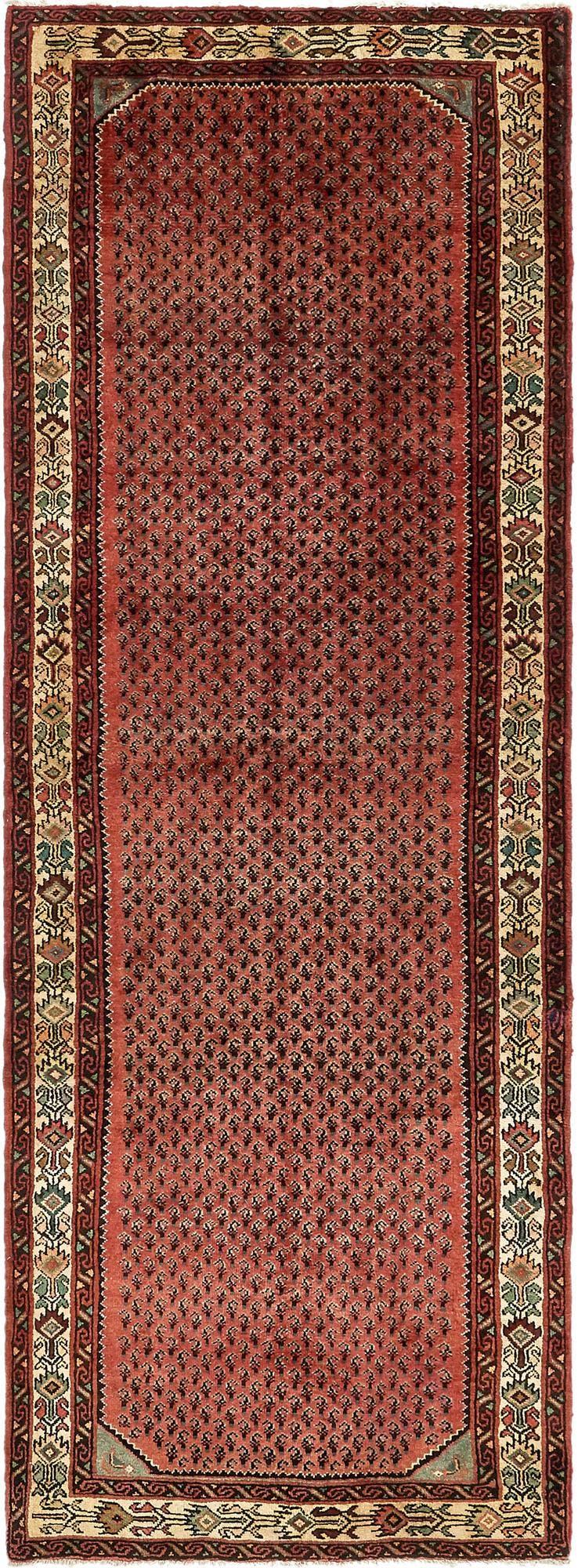 3' 6 x 9' 9 Koliaei Persian Runner Rug main image