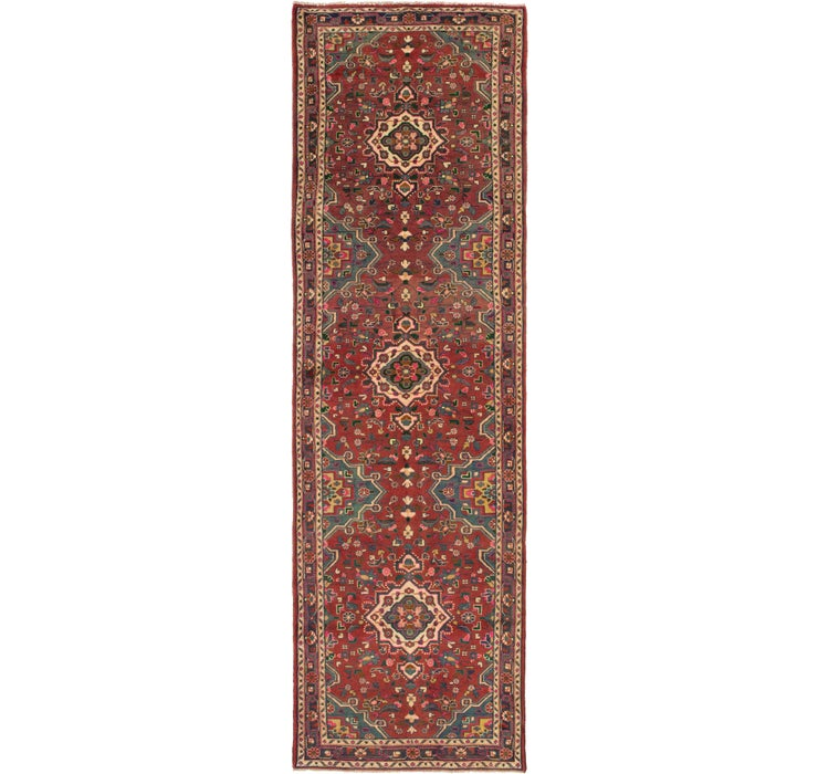 107cm x 363cm Mehraban Persian Runner...
