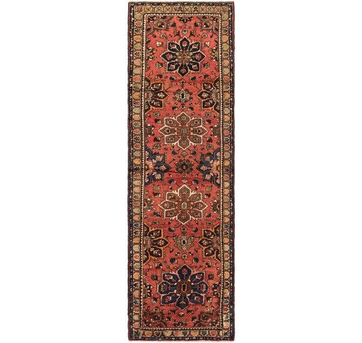 107cm x 375cm Nanaj Persian Runner Rug