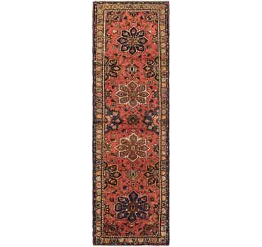 Image of 3' 6 x 12' 4 Nanaj Persian Runner Rug