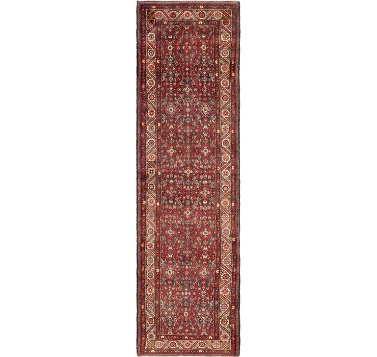 117cm x 422cm Hossainabad Persian Run...
