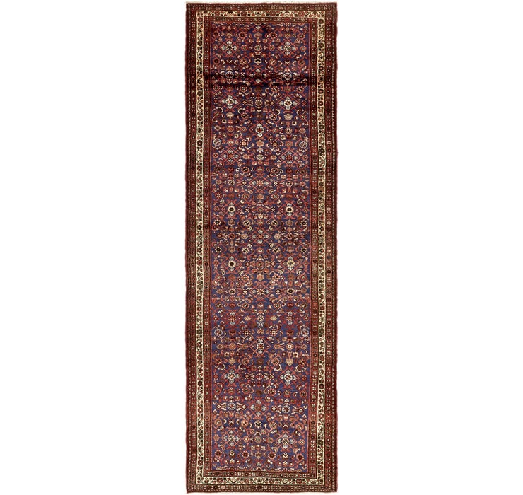 117cm x 415cm Hossainabad Persian Run...