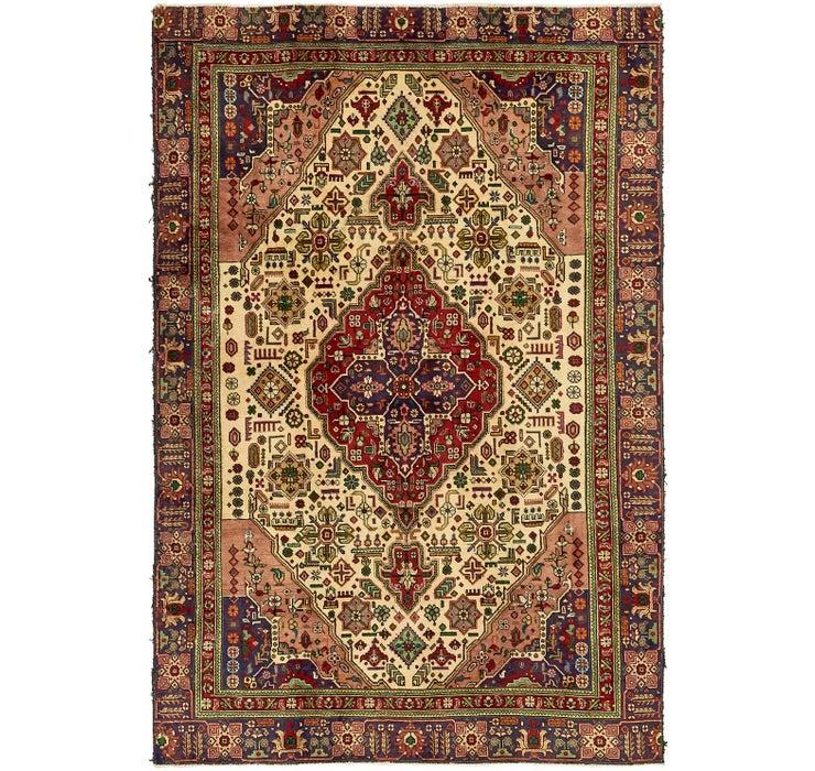 183cm x 300cm Tabriz Persian Rug