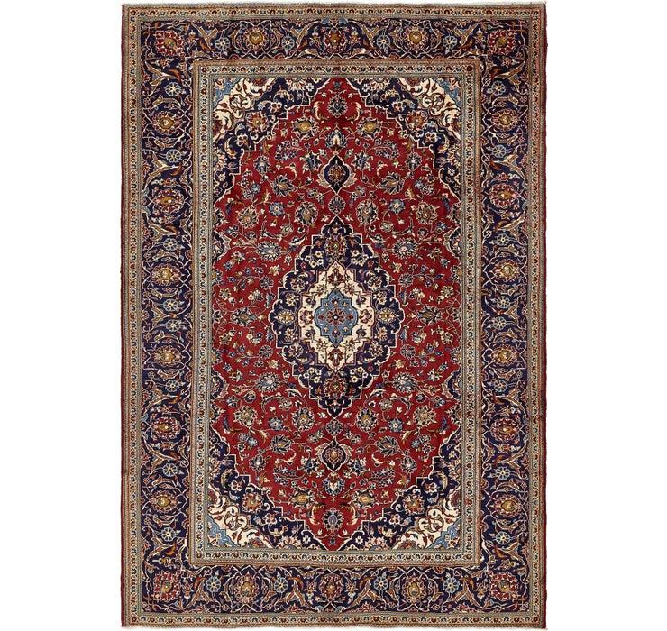 240cm x 350cm Kashan Persian Rug