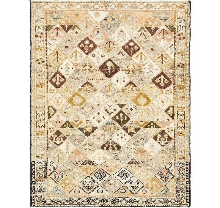 Image of 6' 8 x 9' Bakhtiar Persian Rug
