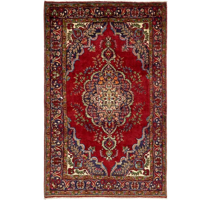 6' 5 x 10' 3 Tabriz Persian Rug