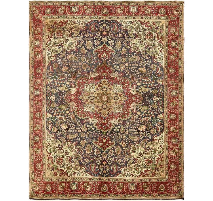 9' 7 x 12' 4 Tabriz Persian Rug