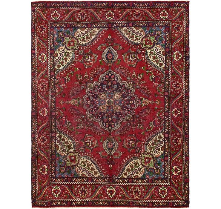 292cm x 385cm Tabriz Persian Rug
