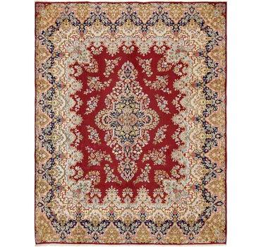 10' x 12' 8 Kerman Persian Rug main image