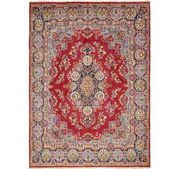Image of 9' 10 x 13' 7 Kerman Persian Rug