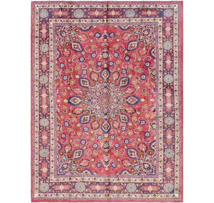 245cm x 330cm Mashad Persian Rug