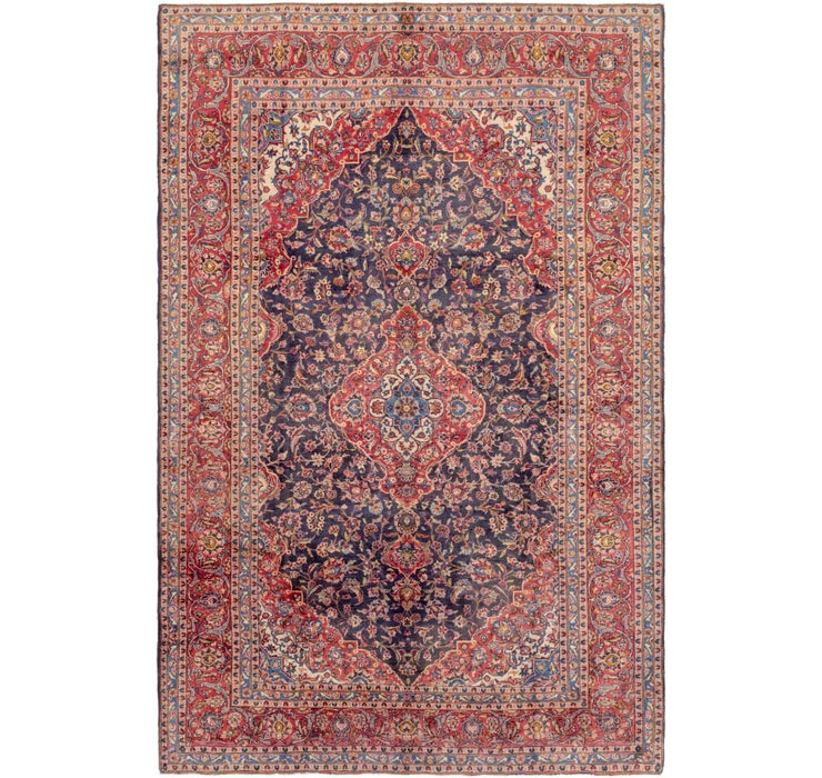 8' 4 x 12' 7 Kashan Persian Rug