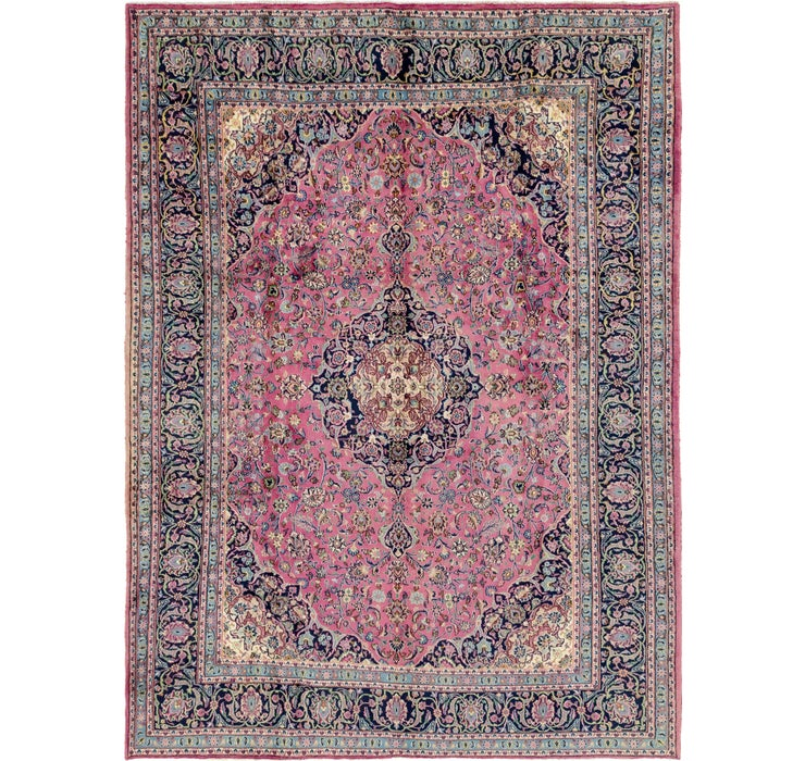 287cm x 390cm Mashad Persian Rug