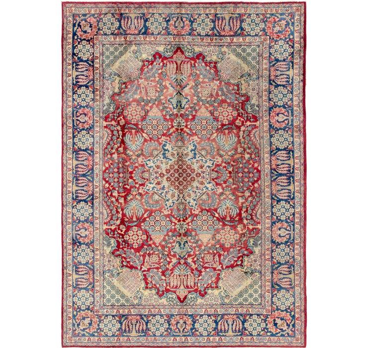 8' 6 x 12' 3 Isfahan Persian Rug