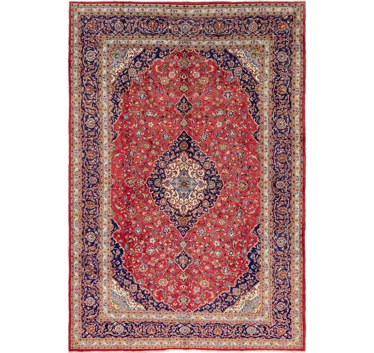 295cm x 447cm Kashan Persian Rug