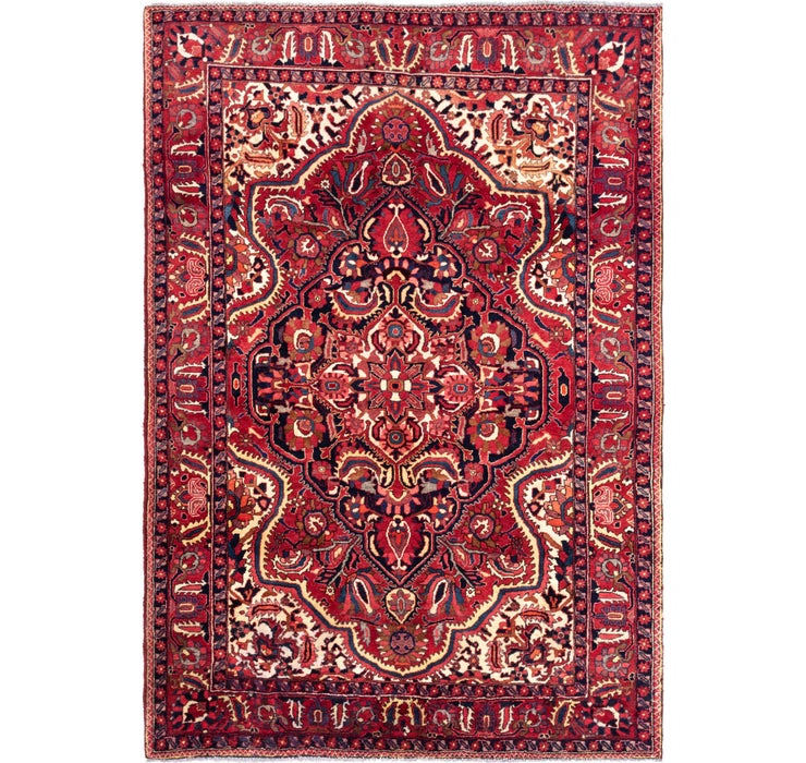 218cm x 310cm Bakhtiar Persian Rug