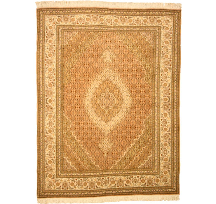 145cm x 193cm Tabriz Persian Rug