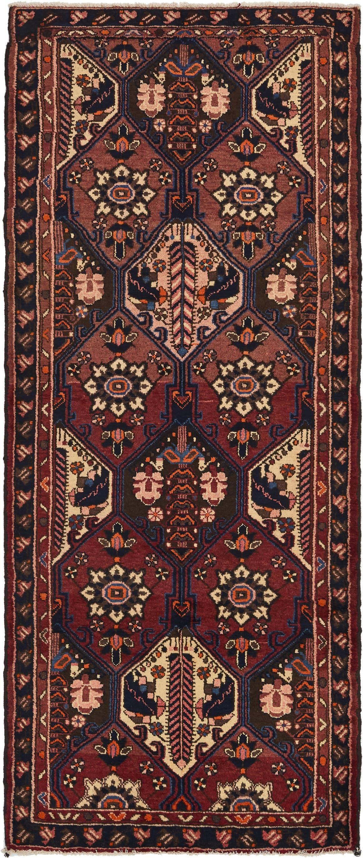 3' 9 x 9' Bakhtiar Persian Runner Rug main image