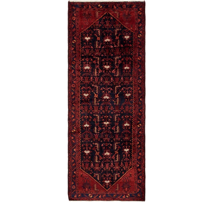 117cm x 310cm Zanjan Persian Runner Rug