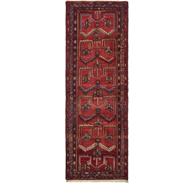 3' 5 x 10' 2 Hamedan Persian Runner ...