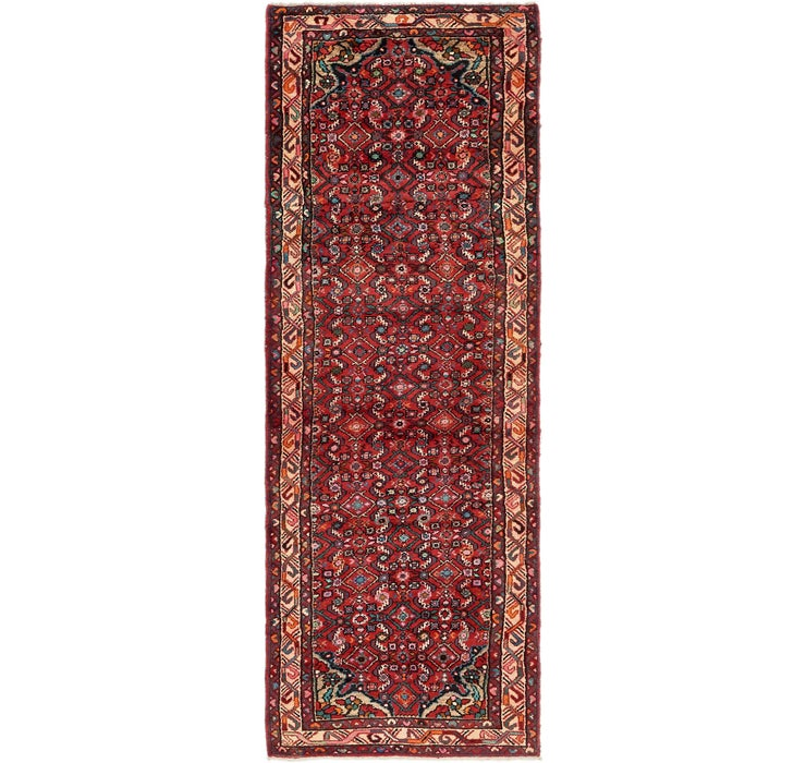 97cm x 297cm Hossainabad Persian Run...