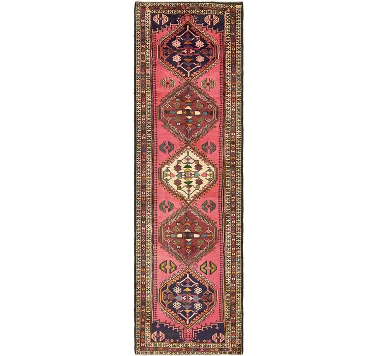 3' 2 x 10' 2 Ardabil Persian Runner ...