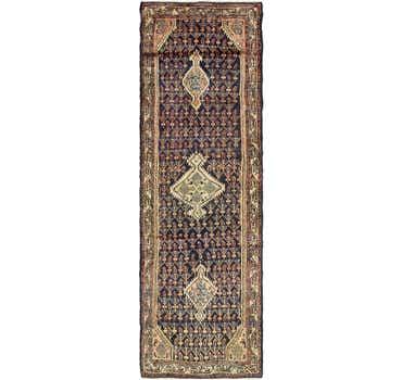 Image of 3' 3 x 11' 4 Darjazin Persian Runner...