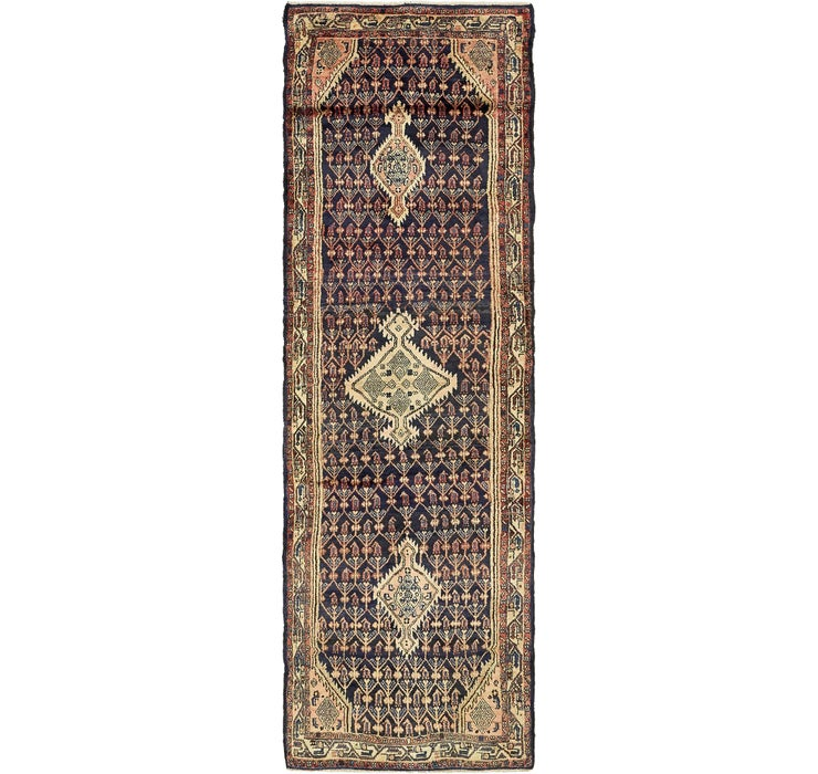 Image of 100cm x 345cm Darjazin Persian Runner...