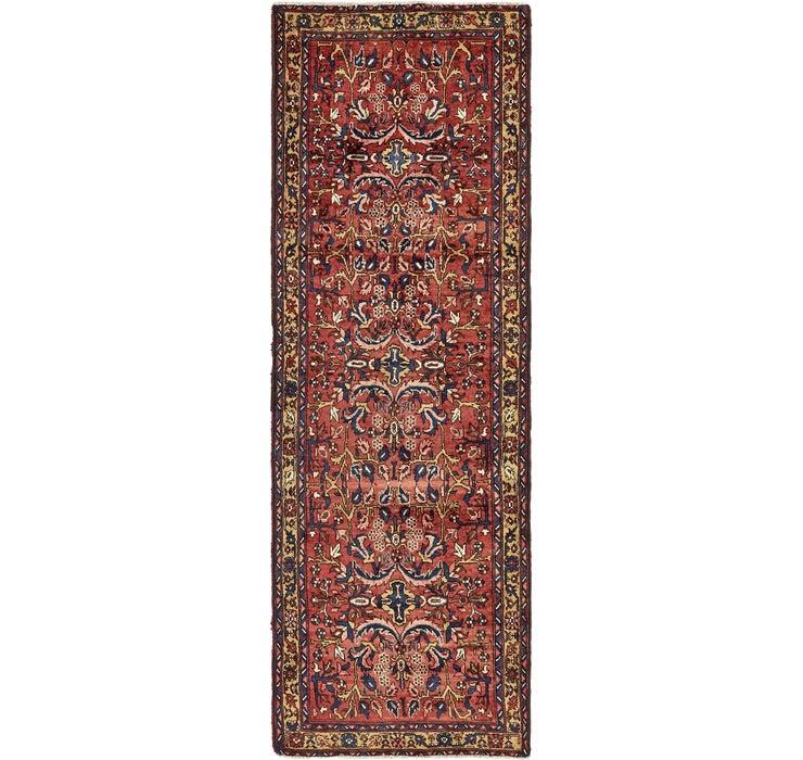 105cm x 312cm Meshkin Persian Runner ...
