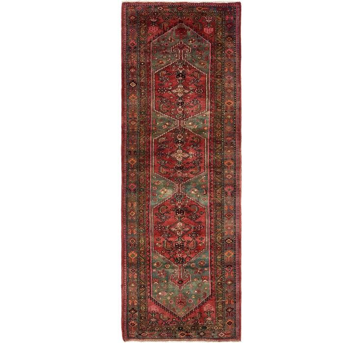 110cm x 315cm Zanjan Persian Runner Rug
