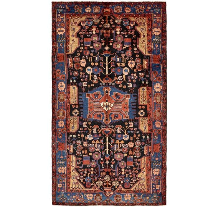 173cm x 315cm Nahavand Persian Rug