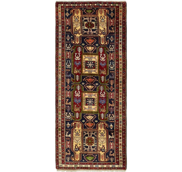 4' x 10' Ardabil Persian Runner ...