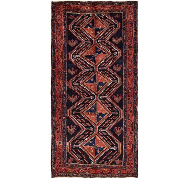 4' 8 x 9' 5 Sirjan Persian Runner Rug
