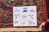 4' 11 x 10' 5 Zanjan Persian Runner Rug thumbnail