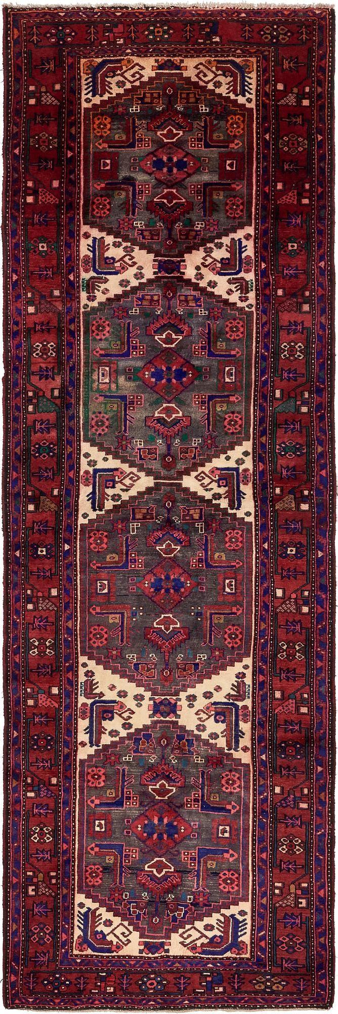 4' 1 x 13' Zanjan Persian Runner Rug main image