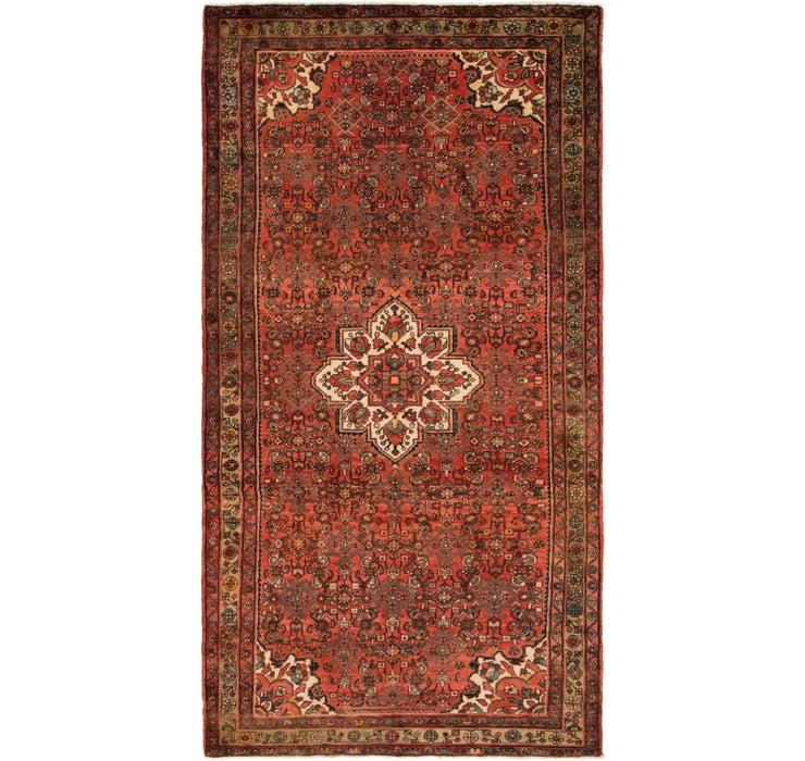 5' 3 x 10' 3 Hossainabad Persian Rug