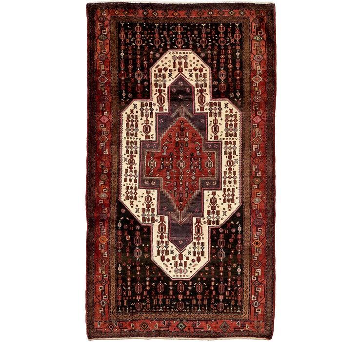 157cm x 290cm Sanandaj Persian Rug