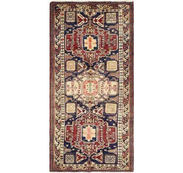 Image of 5' 3 x 10' 10 Ardabil Persian Runner ...