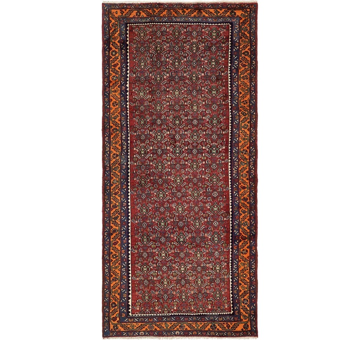 137cm x 305cm Zanjan Persian Runner Rug