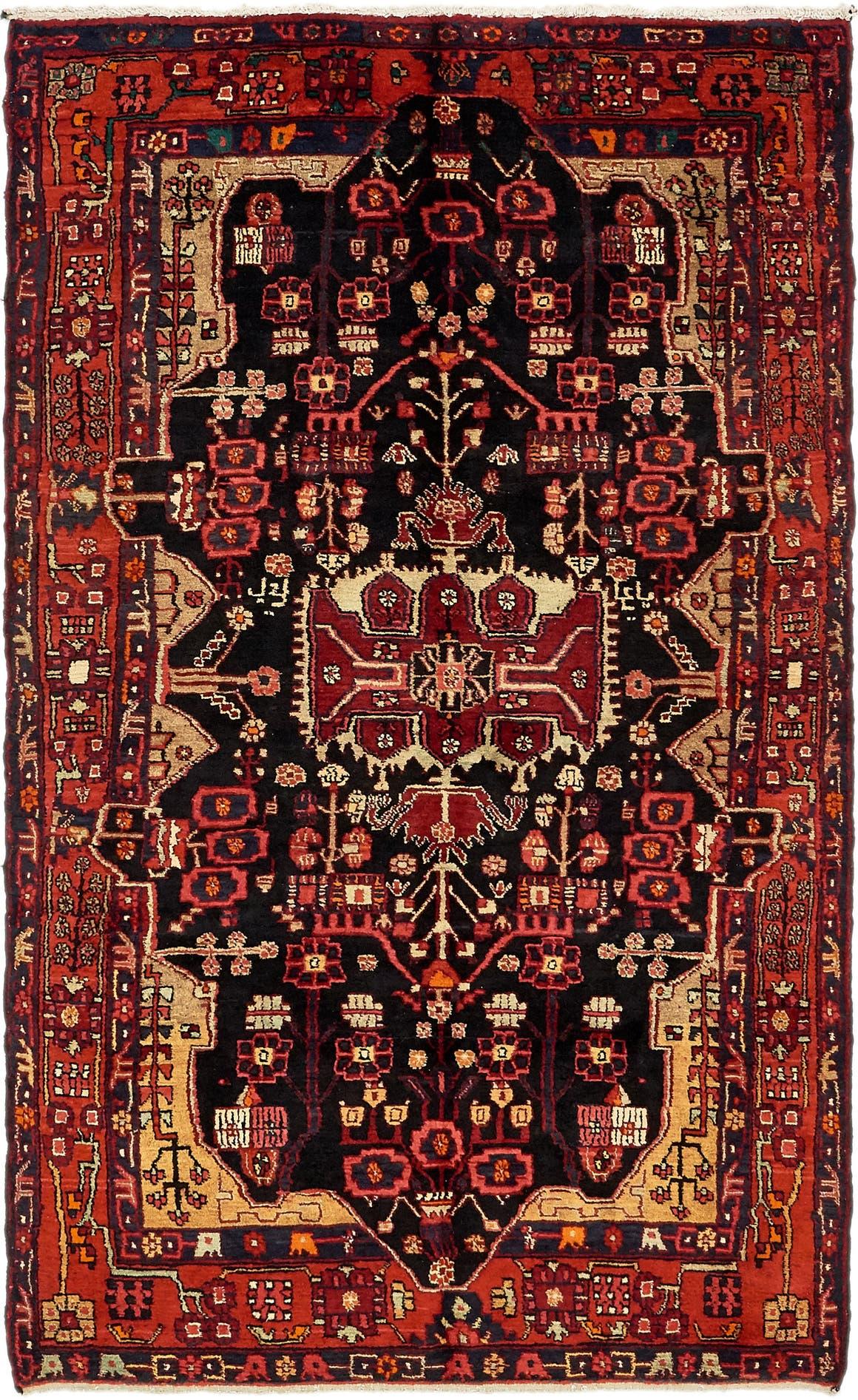5' x 8' 9 Nahavand Persian Rug main image