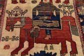 4' 6 x 11' Shiraz-Lori Persian Runner Rug thumbnail