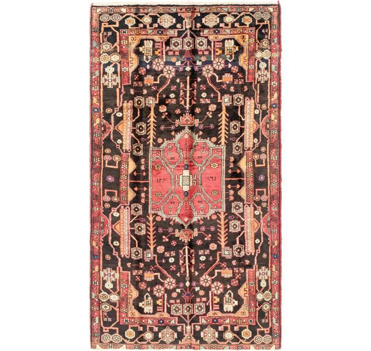 157cm x 285cm Nahavand Persian Rug