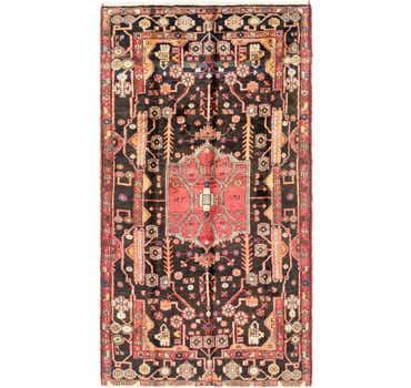 Image of 5' 2 x 9' 4 Nahavand Persian Rug